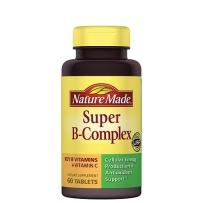 NatureMade B-Complex 复合维生素B族+VC 60粒