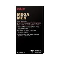 GNC Mega Men 男性复合维生素片 90片