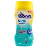 Coppertone 水宝宝 儿童防晒乳 无泪配方 SPF50 177ml 无油无香防水