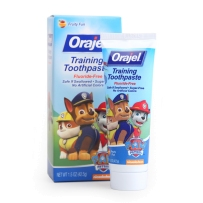 Orajel 欧乐 三只小狗 宝宝无氟可吞咽牙膏 42.5g (适合3个月~4岁婴幼儿)
