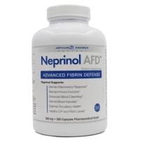 美国极酶孚镁络Neprinol AFD含纳豆激酶软胶囊降血压药血脂三高脑梗血栓中风偏瘫软化血管 300粒1瓶装