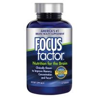 FOCUS factor  成人健脑成人记忆补充剂补充大脑营养剂 综合维生素营养片 150粒
