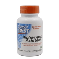 Doctor's Best α-硫辛酸Alpha-Lipoic 600mg60粒 抗氧化衰老