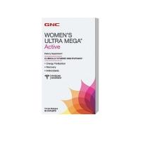 GNC 女性活力综合维生素women's ultra mega active90粒