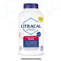 Bayer拜耳 Citracal美信钙 柠檬酸钙VD  肠溶型  280粒