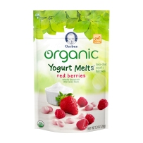 嘉宝有机酸奶溶溶豆有机草莓红梅酸奶溶豆28g 2袋装