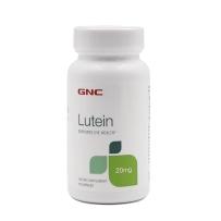 GNC  天然叶黄素 20mg  60粒 改善白内障 黄斑