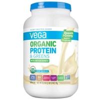 Vega 100%全天然有机植物绿色蛋白粉奶油香草味 1kg