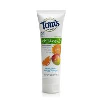TOM's Of Maine天然含氟儿童牙膏119g-橙子芒果味