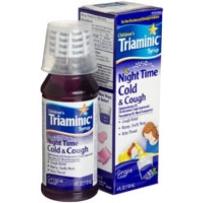 Triaminic 儿童夜用感冒咳嗽糖浆  葡萄味 118ml