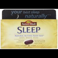 Nature Made  纯天然睡眠辅助胶囊 30粒
