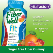 Vitafusion fiber well 膳食纤维果蔬纤维素软糖 220粒