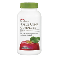 GNC  加强型苹果醋纤体复合片  90片