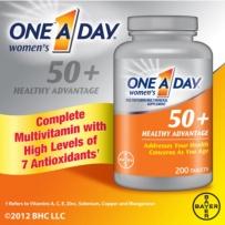One A Day 美国拜耳每天一粒50+女性复合维生素200粒