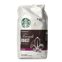 STARBUCKS星巴克浓香咖啡豆1130g 法式烘烤现磨咖啡豆 2磅包邮